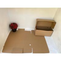 Kotak karton murah Roll Tart Dus Box Kue Cake Roti uk 22x10x10 cm