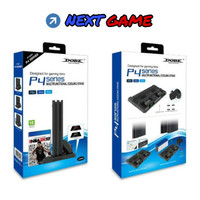 Dobe Multifunctional Cooling Stand with LED for PS4 Slim and Pro