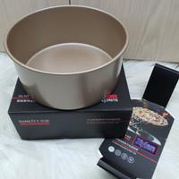 suncity deep round cake baking pan 8inch / loyang kue bulat