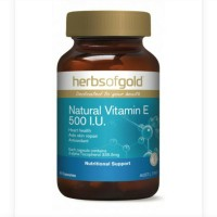 herbs of gold herbsofgold vitamin e vit e 500iu 500 iu 50 caps