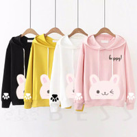 BLOUSE HODIE ANIMAL'S ALL SIZE FIT L ( 7 WARNA)