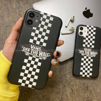 Vans Chess Case Iphone 6 6S 6+ 6S+ 7 7+ 8 8+ X XS MAX XR 11 PRO MAX