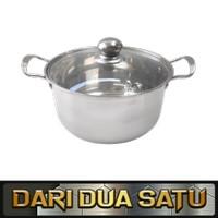 Panci Sup Soup Pot Korean Pot Stainless 26 cm