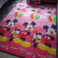 karpet karakter quilting jumbo mickey mouse