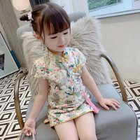 Dress Cheongsam Chinese baby anak perempuan kids import lucu