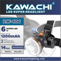 Senter Kepala Kawachi LW-406 6 Watt - Headlamp LW 406 Baterai 1200mAh