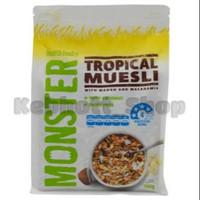 Monster Tropical Muesli with Mango and Macadamia Cereal Sereal Sarapan