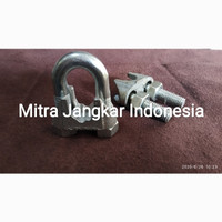 Wire Clip/Klem Seling Clamp Wire Rope/Kuku Macan RRT uk.1/2inch (12mm)