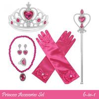 Aksesoris Pink Aurora Princess 6in1 CA13
