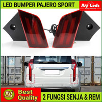 LAMPU LED BUMPER PAJERO SPORT 2016 ON