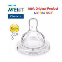 Philips Avent Nipple Classic Teat Dot Botol Susu Avent Newborn 0m+