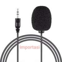 3.5mm Lavalier Microphone Clip On Mic Vlog Youtube Smule Interview