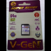 Memory Camera V-GeN Sd Card 64gb Hyper Series