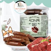 Korea Signature Lamb Sausage -Pet Dog Snack Treat Cemilan Anjing Hewan