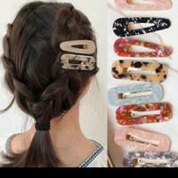 Jepitan Jepit Rambut Vintage Hair Pin Motif Keramik Fashion Hair Style
