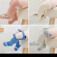 Kaos Kaki Bayi Anak Panjang Anti Slip Long Socks Motif Kartun