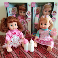 Sweet Baby Doll Mainan Boneka Bisa Bersuara Seperti Bayi, Pipis