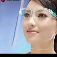 Face Shield Kacamata Pelindung Wajah Dental Premium Waterproof Dewasa