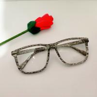 kacamata frame vans serat kayu gratis lensa minus