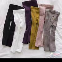 Celana Legging Rajut Bayi POLOS untuk Baby Anak Balita Import