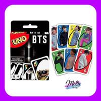 Mainan Anak Dewasa Kartu Uno BTS BT21 Game Card Edisi KPOP