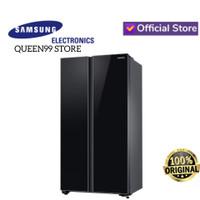 KULKAS MEWAH SIDE BY SIDE SAMSUNG RS62R50412C DIGITAL INVERTER BLACK