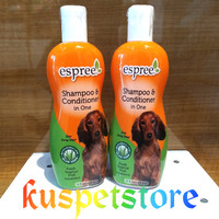 shampo anjing espree shampoo&conditioner in one 354 ml