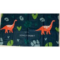 Sarung bantal cinta motif Dinosaurus