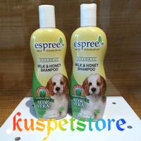 shampoo anjing espree milk&honey 355ml