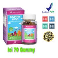Wellness Gummy kids 70 Gummy / 70Gummy Vitamin Anak