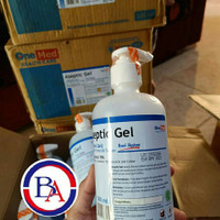 onemed aseptic gel 500ml sanitizer