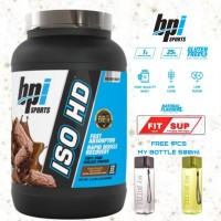 bpi sports ISO HD 1,6lbs free botol 500ml whey protein isolate