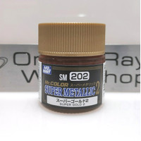 Mr. Color Super Metallic 2 Super Gold 2 SM 202 10ml