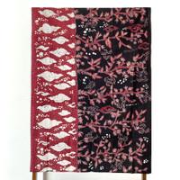 Kain Batik Tulis Lasem Biota Laut RB257, kain panjang
