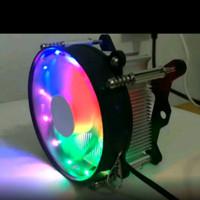 Cpu cooler RGB socket intel Cpu fan processor kipas