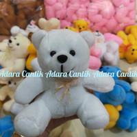 Boneka teddy bear mini tinggi 15cm