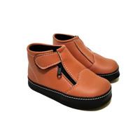Sepatu boots anak terbaru model sleting sepatu anak balita model keren