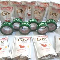 GIV bodywash White Series Mulberry&Collagen/Sabun Cair Giv 450ml