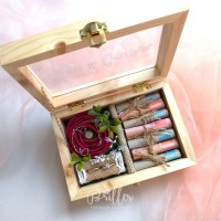 Wedding Ring Box/Kotak Cincin Nikah & Mahar/Kotak Seserahan Perhiasan