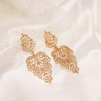 Allains Earrings | anting gold anting emas impor hits wanita kekinian