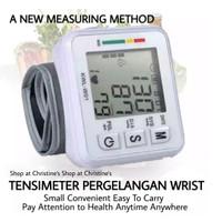 Tensimeter Digital Alat Ukur Tekanan Darah Jantung Elektronik Gelang
