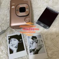 Jasa cetak foto polaroid intax asli fujifilm