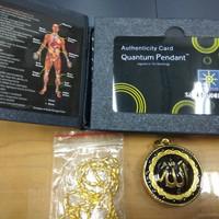Kalung Kesehatan Quantum Pendant Lafaz Gold / Kalung Kesehatan