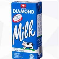 Susu diamond UHT kemasan 1 liter