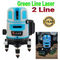 Cross Line Laser Level Self leveling 360 Drajat 2 Line Green Light