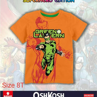 Oshkosh kaos anak super hero edition