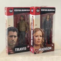 Fear The Walking Dead Figure Travis & Madison Set Mcfarlane MISB