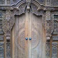 jual pintu gebyok jati jawa full ukir berkualitas