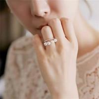cincin pearl mutiara korea by kimcalie