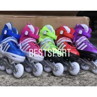 sepatu roda anak full set